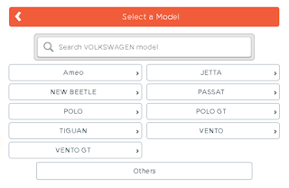 Select a model for car insurance premium calculator,an image showing various car models,
