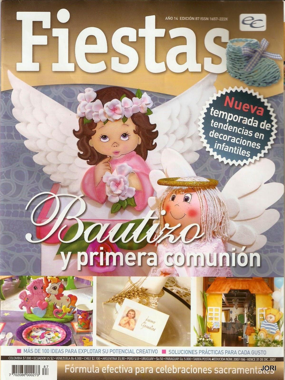 Revista de manualidades bautizo y primera comuni n for Revistas de decoracion gratis
