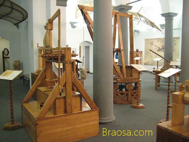 Museo nazionale della Scienza e della Tecnologia Leonardo da Vinci a Milano