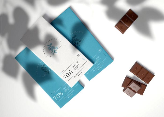 Chocolate Bar Psd Free Mockup