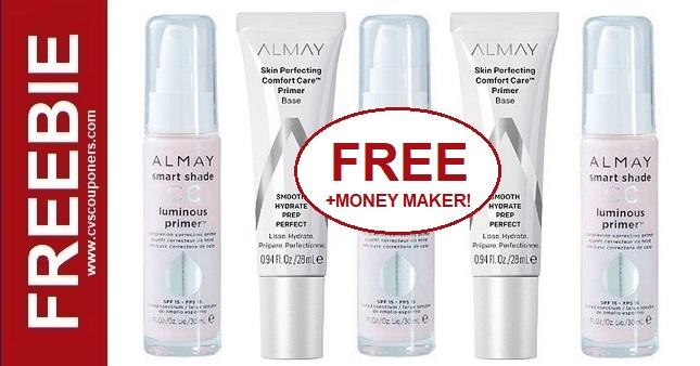 FREE Almay Primer CVS Coupon Deal 1-12-1-18