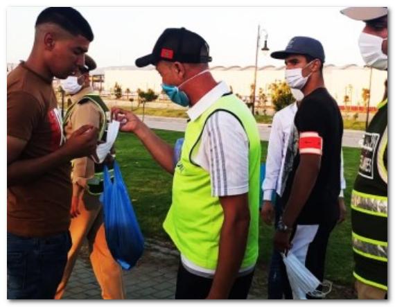 توقيف حوالي 624 ألف شخص لعدم ارتداء الكمامات.. ما بين 25 يوليوز و23 أكتوبر