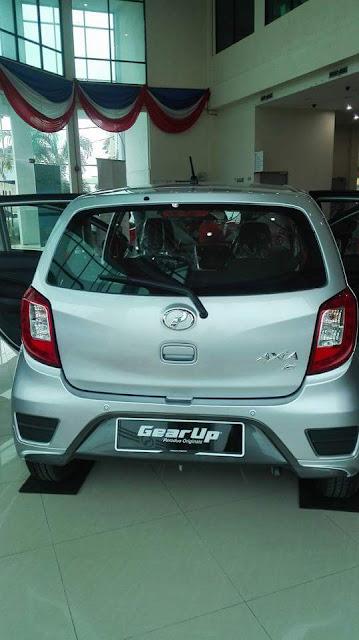 Foto Menarik Kereta Perodua Axia Baru 2017 (Facelift)