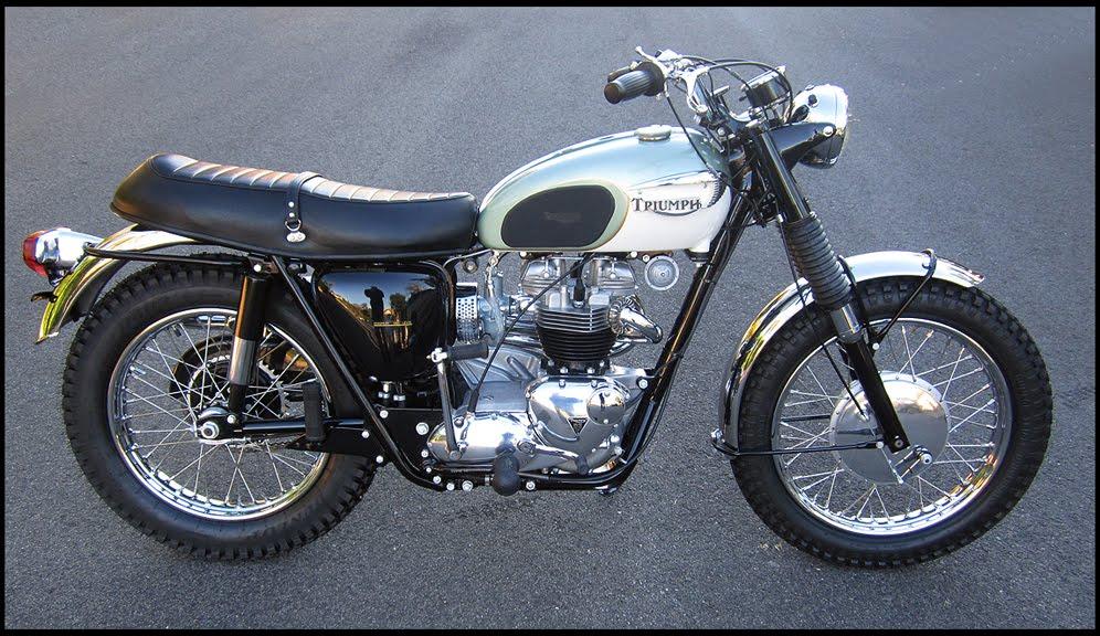 ton up classics: 1967 triumph trophy special tr6c. sold!!!