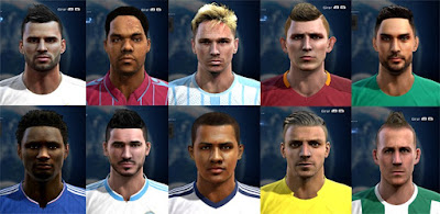 Facepack good quality x1 Pes 2013