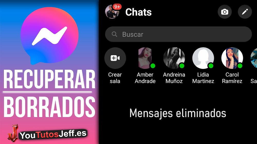 RECUPERAR CONVERSACIONES BORRADAS de Facebook Messenger   Trucos Messenger