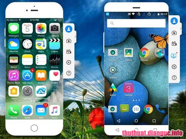 Download ApowerMirror 1.4.5.1 Full Crack, xuất màn hình của thiết bị Android và iOS lên máy tính, cách stream game mobile bằng máy tính, ApowerMirror, ApowerMirror free download, ApowerMirror full key