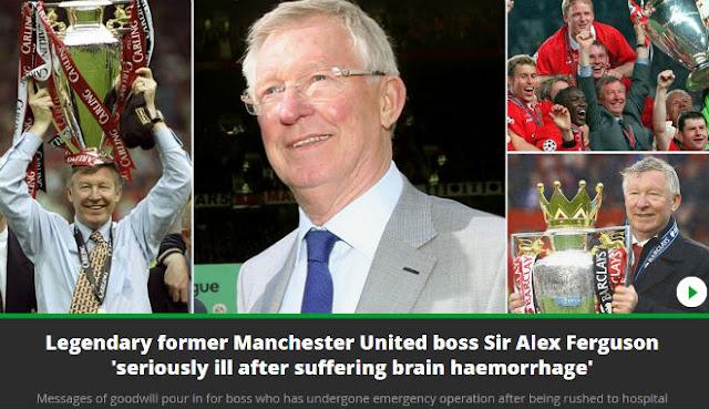 Sir Alex nguy hiểm tính mạng: SAO MU khóc, Ronaldo lo lắng, thế giới hồi hộp 6