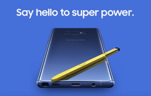 """فيديو مسرب """"عن طريق الخطأ"""" يكشف مميزات Galaxy Note 9"""