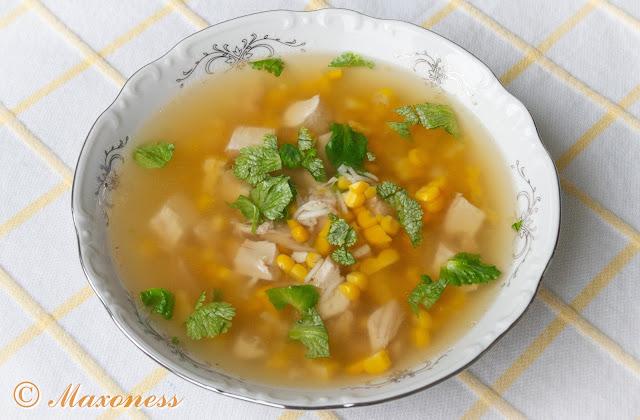 Куриный рисовый суп (канджа). Африканская кухня