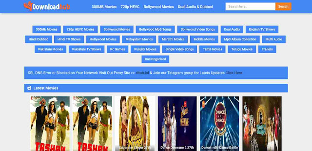 Downloadhub - Top New Tamil Movie Download Website for free 2019
