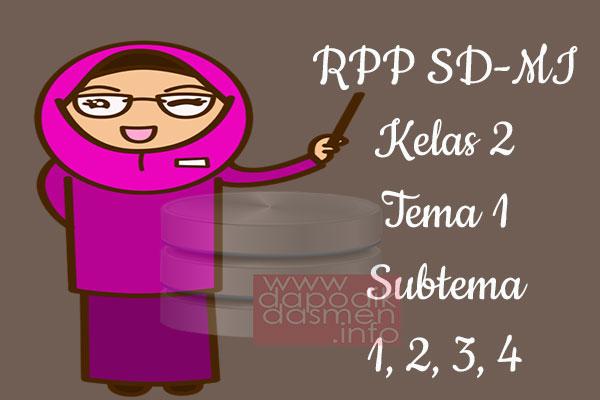 RPP Tematik SD/MI Kelas 2 Tema 1 Subtema 1 2 3 4 Semester 1, Download RPP Kelas 2 Tema 1 Subtema 1 2 3 4 Kurikulum 2013 SD/MI Revisi Terbaru, RPP Silabus Tematik Kelas 2