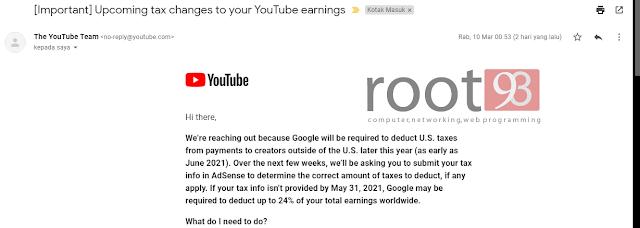 potongan pajak konten kreator - root93