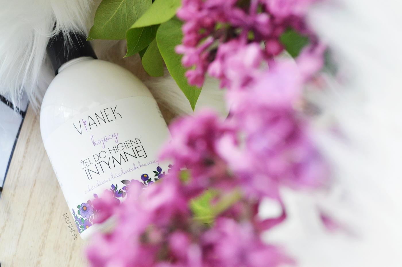 pewniaki kosmetyczne do pielęgnacji, żel do higieny intymnej Vianek