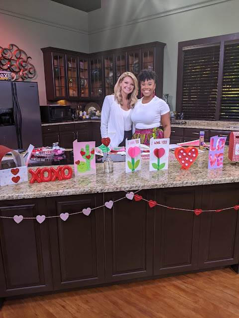 Laura Moody and Karimah Henry on the set of Good Day Tampa Bay