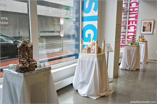 Octava Competición Anual de Casas de Jengibre en Boston