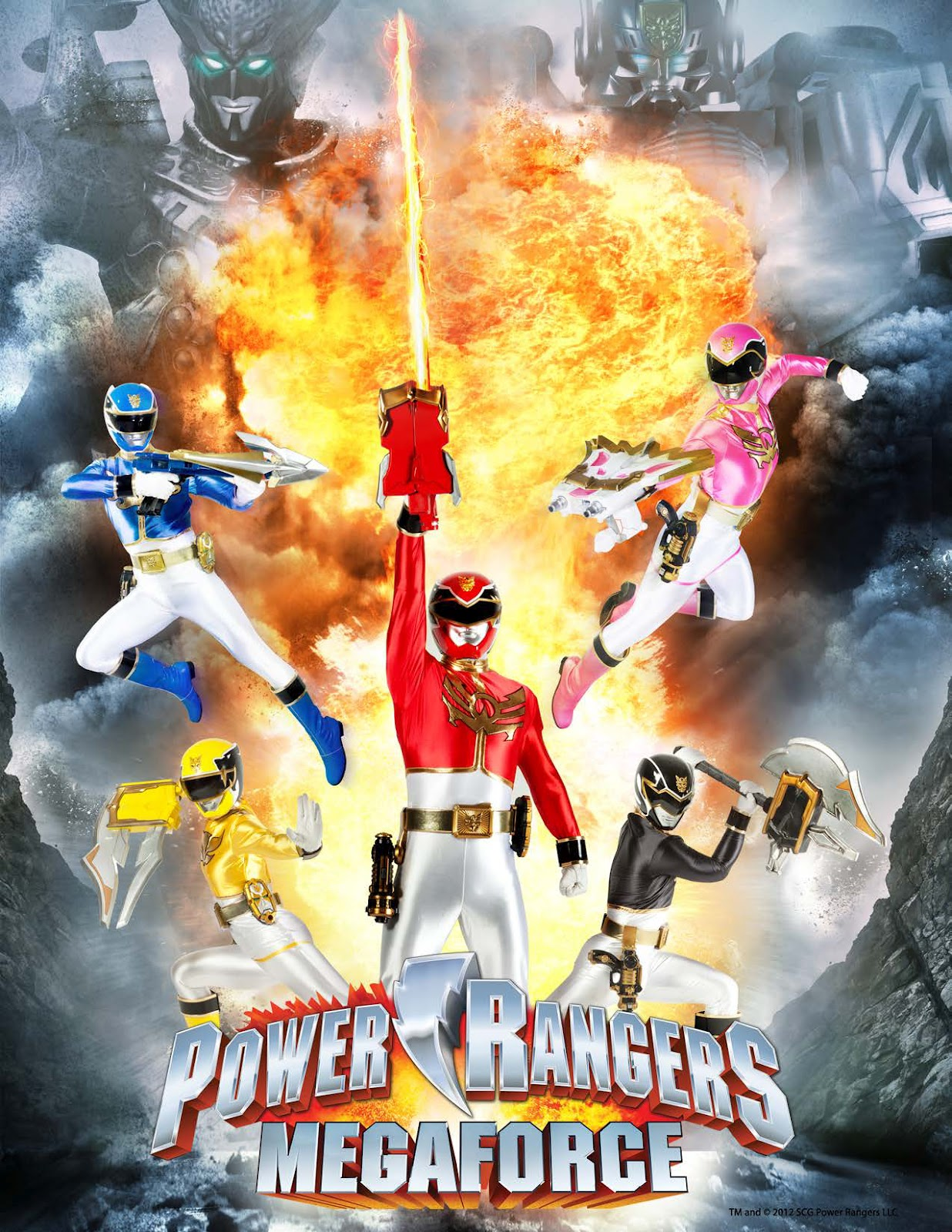 Henshin Grid: Power Rangers Megaforce for 2013-2014 Announced