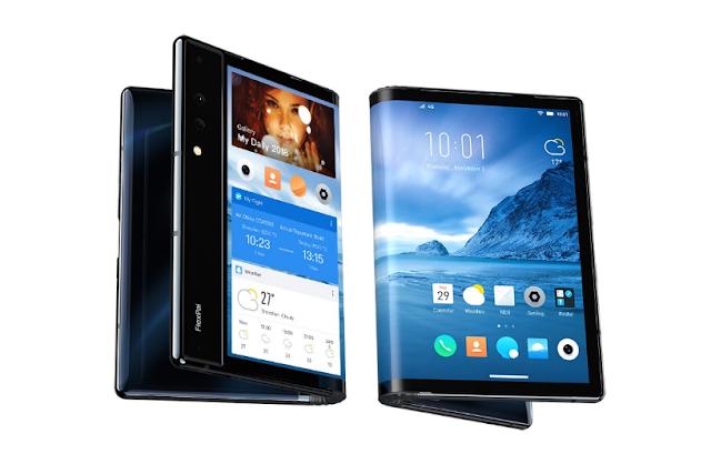 سيتم طرح أول هاتف قابل للطي في العالم مزود بشاشة مرنة للبيع غدًا