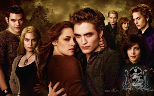 Twilight's Cullens: The all-white vampire family.