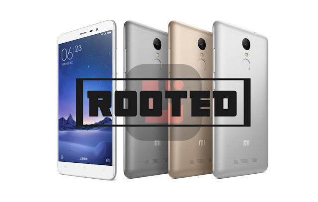 root redmi note 3, cara root redmi note 3