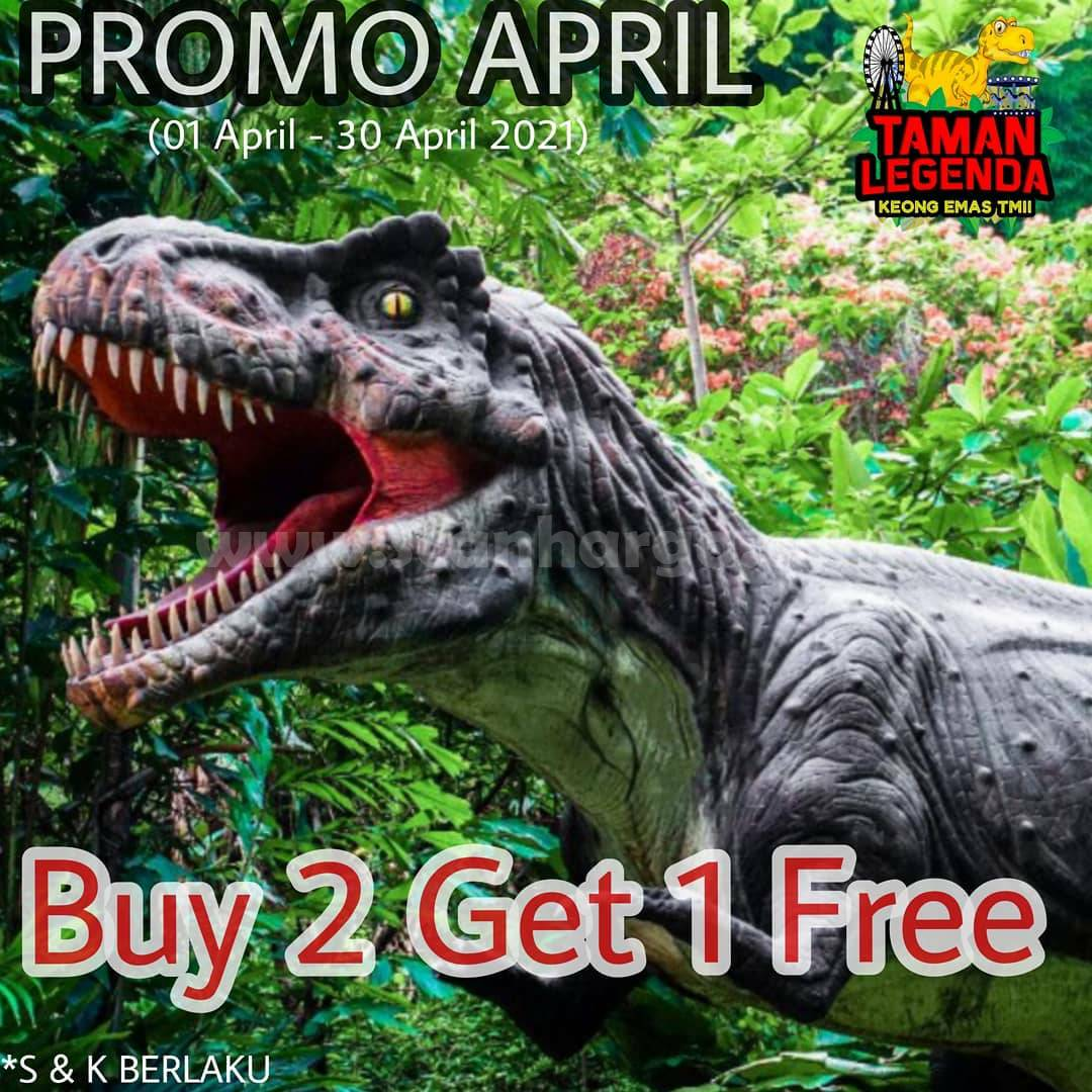 Promo TAMAN LEGENDA APRIL 2021 – BUY 2 GET 1 FREE