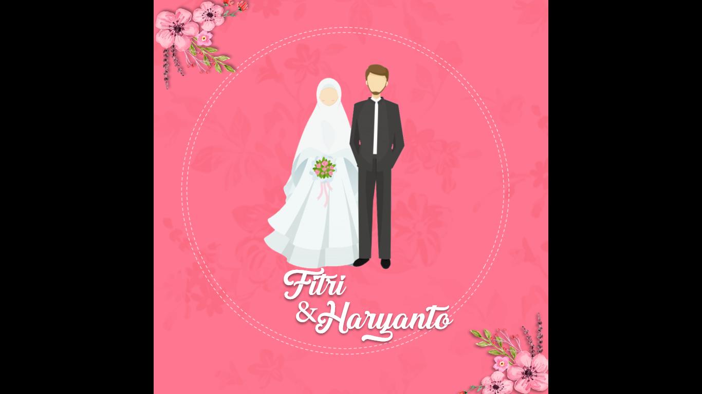 Template Video Undangan Pernikahan Ppt Gratis Versi Islami Dwitekno