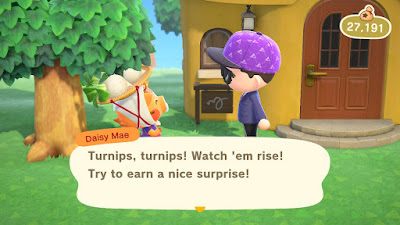 Buying Turnips on Animal Crossing: Week 7