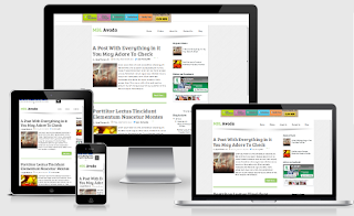 Download Template Avada Blogger Template