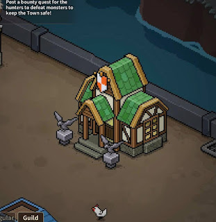 Evil Hunter Tycoon - Guild HQ