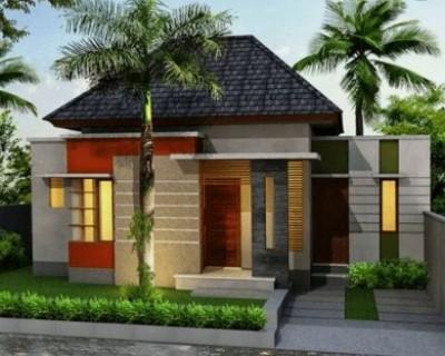 macam model rumah sederhana 1 lantai tampak depan
