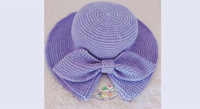 Cómo tejer lindo sombrero para bebé a crochet paso a paso
