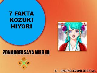 Fakta Kozuki Hiyori One Piece