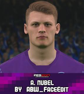 PES 2017 Faces Alexander Nübel by ABW