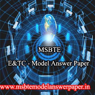 E&TC ( SEM - 2) MODEL ANSWER PAPER DOWNLOAD PDF