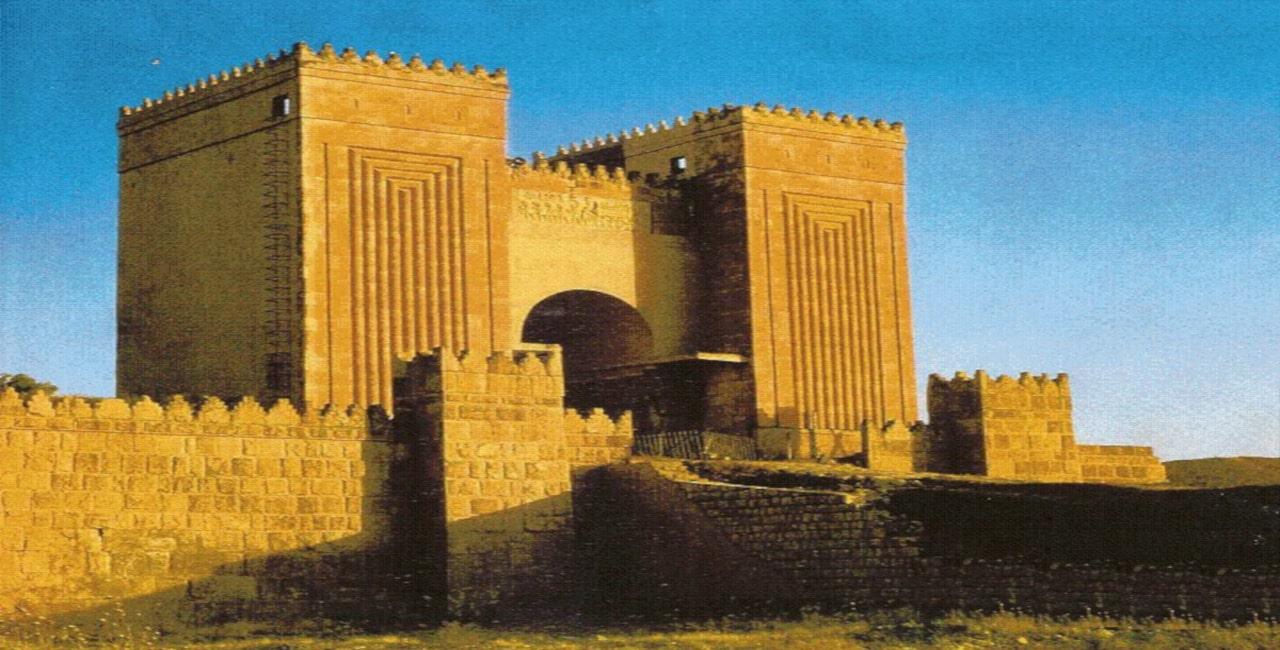 principales palacios de mesopotamia antigua