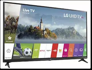 LG Electronics 43UJ6300 43-Inch 4K Ultra HD Smart LED TV (2017 Model.webp