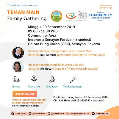 TEMAN MAIN Family Gathering 2109