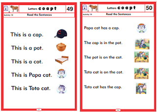 How to enable students to form English sentences using sight-words