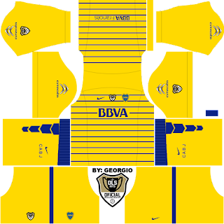 timnas kits dream league soccer boca junior