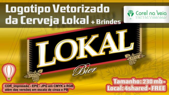 Logotipo Vetorizado da Cerveja Lokal