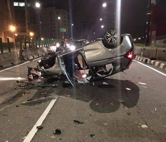 Nigerian man and his Malaysian girlfriend die in fatal accident