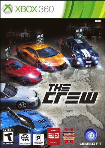 The Crew Xbox 360 Espanol Region Free