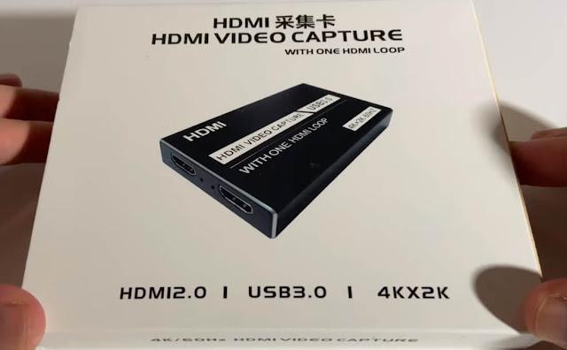4K 60Hz HDMI Video Capture Card USB 3.0