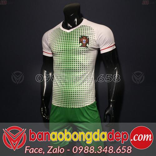 Áo Bồ Đào Nha Trắng 2019 2020 Training 1