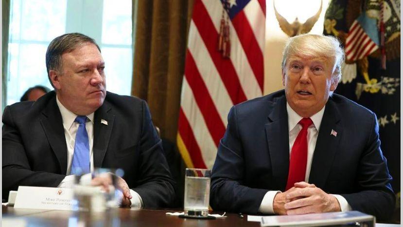 Presidente Trump envió una nota al secretario Pompeo por el caso Bolivia / WEB