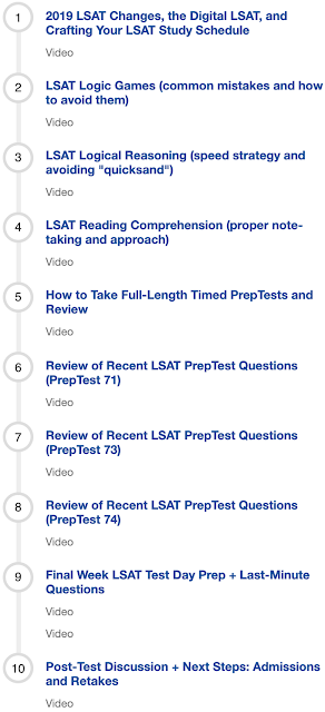Live Online LSAT Master Class