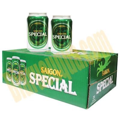 Thùng bia lon Sài Gòn Special