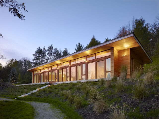 one of the sustainable house +HOUSE by Superkül Architects, Ontario, Canada Lake modernist luxurious