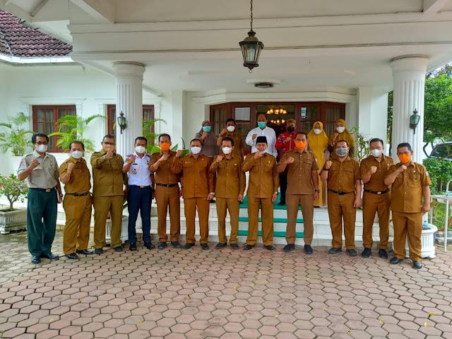 Terima Kunker Plt Walikota Tanjung Balai Untuk Menjalin Kerjasama, Ini Penjelasan Walikota Tebing Tinggi Untuk Meningkatkan PAD