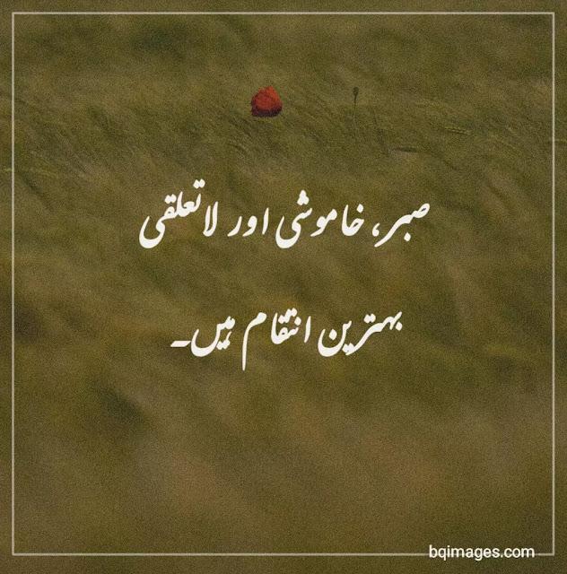 sabar golden word in Urdu